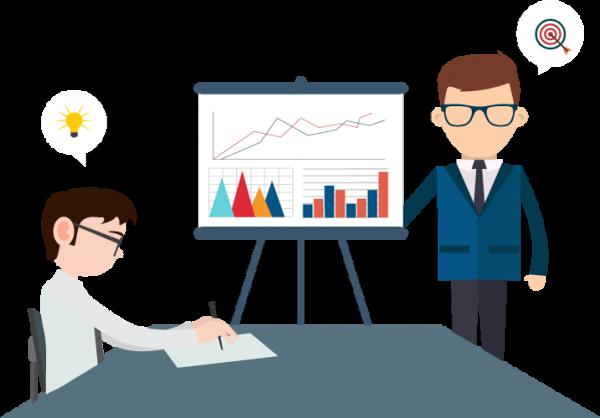 business coaching scene